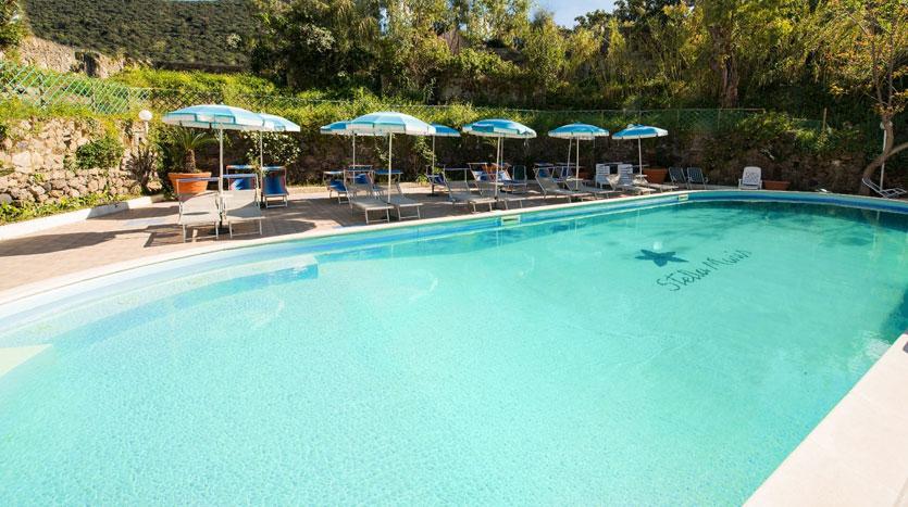 Hotel Stella Maris Ischia, piscina scoperta