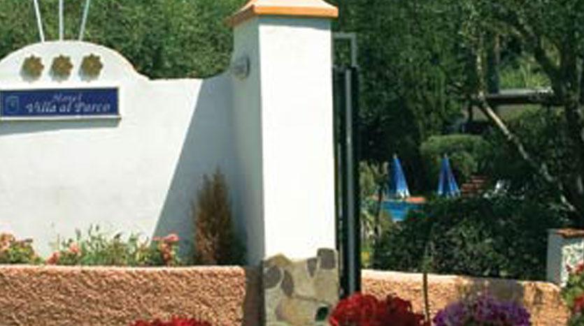 Hotel Villa Al Parco - Entrata