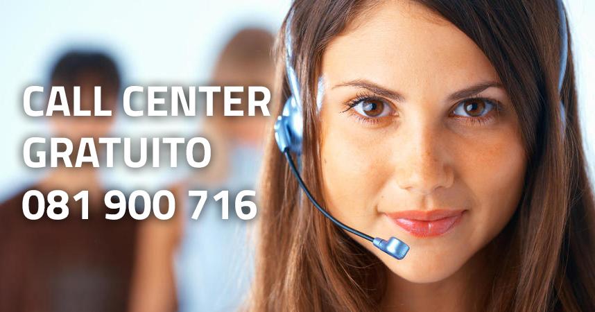 Call Center Gratuito al numero +39081900716